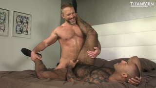 daddy and hunky black men flip-fucking