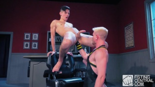 Cody Winter and Issac Lin at Fisting Central