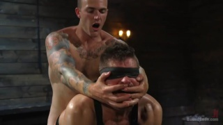 hung Sub Jack Andy Gets Intense beating