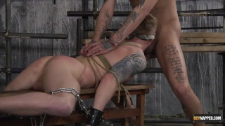 Blindfolded Jock Gets His Holes Used
