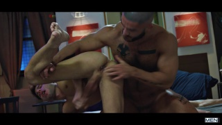 allen king gets fucked by Paddy O'Brian & Francois Sagat