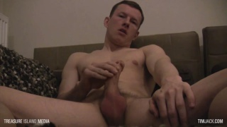 two British top boys jerk their cocks