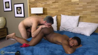 top fucks the cum out of his bottom