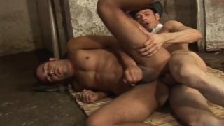 latino cowboys fuck in the barn