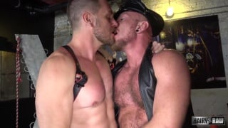 leather men hans berlin and dick davvy bareback