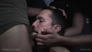 danny blue sucks off four men