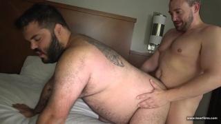 hung daddy fucks his bear buddy raw