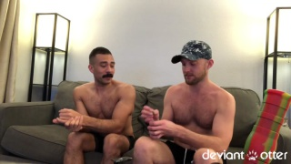 2 guys celebrate 420 day with dick action
