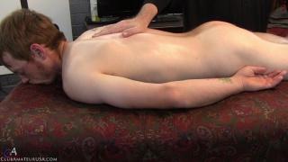 ginger dude gets full-service massage