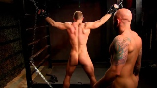 Drake Jaden is the master and Dirk Caber is his slave