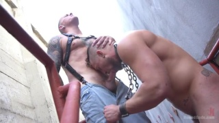 public flogging with Jay Austin & Max Cameron