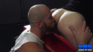 hung top is surprised this bottom can take his cock