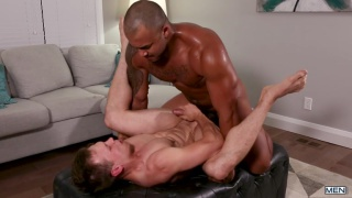 Jason Vario plows Ethan Chase's ass