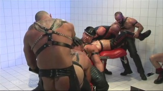 Cunt-Wrecking Frenzy with albert victor and christian torrent