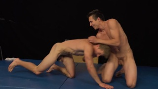 naked Wrestling with Alan Pekny and Igor Tapak