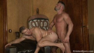 new Swiss hunk gets his ass fucked in first video
