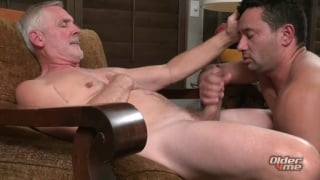 gorgeous daddy gets his ass fucked by young latin hunk