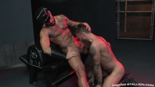 Tex Davidson and Michael Roman get sucked at glory hole