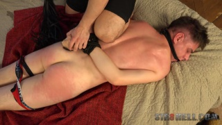 Spanking with Oliver Hruby