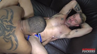 Christian Matthews gets screwed raw by Ray Diesel