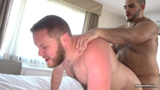 latino cub Klaus M Alvarez bare fucks Matty Bear