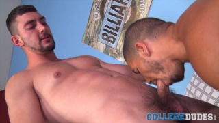 interracial flip fuck with Mike Maverick and Chase Klein