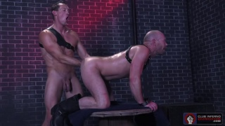 Pierce Paris & Mike Tanner at Club Inferno