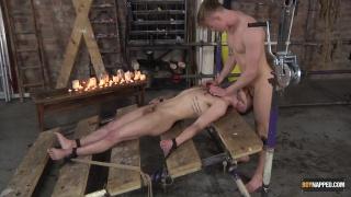 master feeds jock boy his big cock