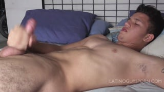 latino guy has a very hairy ass