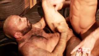 rikk york takes a topping break and gets fucked